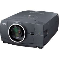 discount av projector sanyo plv-80l used