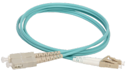 discount serverparts fc cable patchcord optic om3 lc-sc 5m used